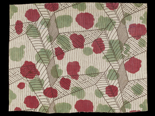 cavetocanvas:  Vanessa Bell, White (furnishing fabric), 1913