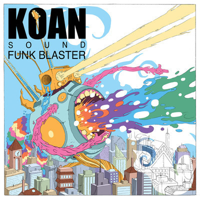 KOAN Sound - Funk Blaster EP  It may admirable for incorporating a genre like funk with dubstep, but KOAN Sound's ambition gets tragically lost in translation when the two sounds collide on this bright, jumpy, hiccuping EP: Funk Blaster. (6/10)