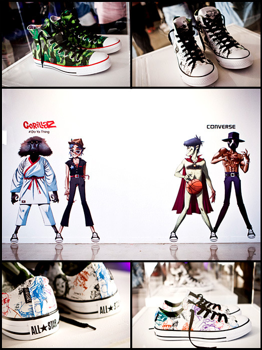 Gorillaz x Converse launch party, Sydney, Australia