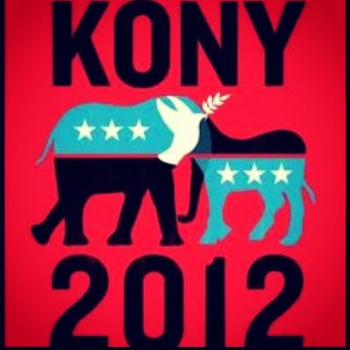 MAKE KONY FAMOUS 2012 (Taken with instagram)
