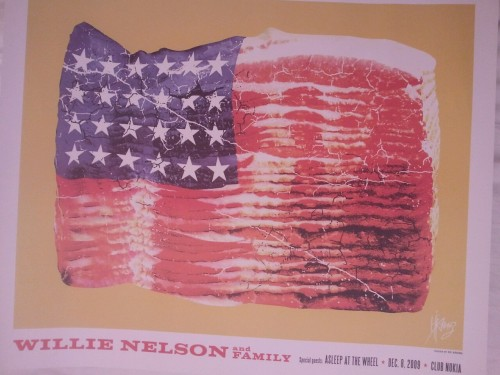 Willie Nelson + Bacon = America!!