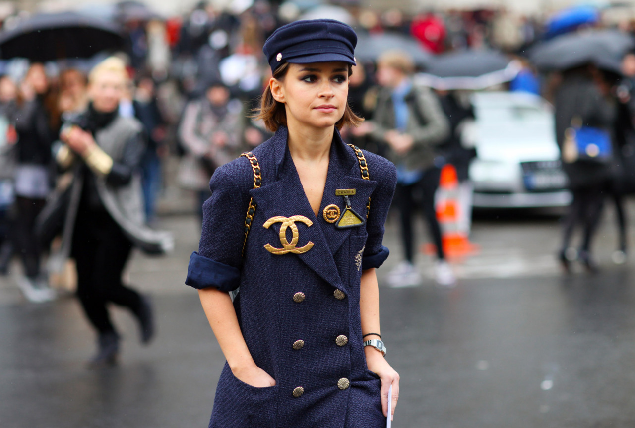 kamenashii:  Miroslava Duma at Paris Fashion Week  OMG! YES!