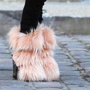 Boots with tha fur…. @thefancy.com