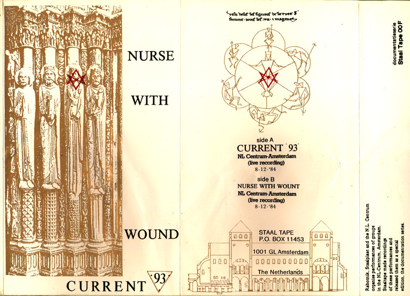 Current 93/Nurse With Wound - NL Centrum-Amsterdam cassette.