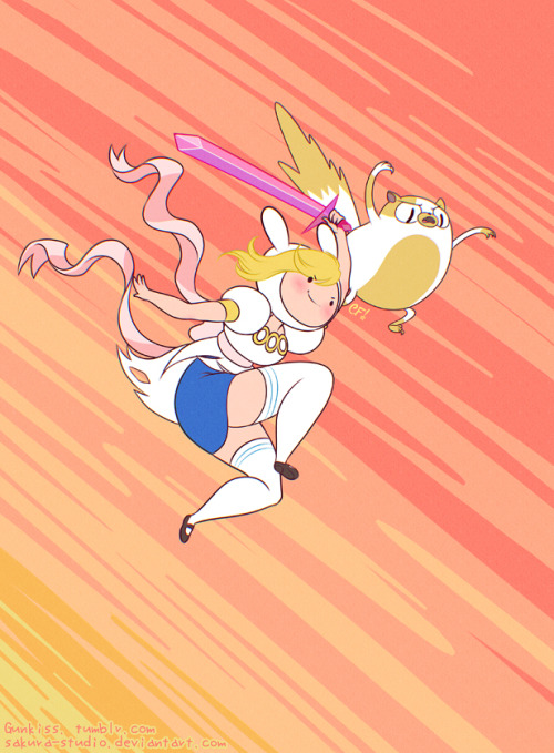 Don't mess with Fionna (and Cake) Don't!
