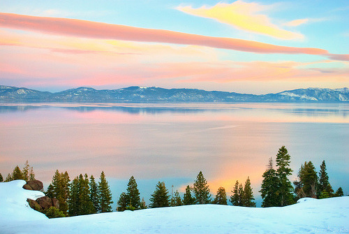 witchsauce:  Lake Tahoe Sunset