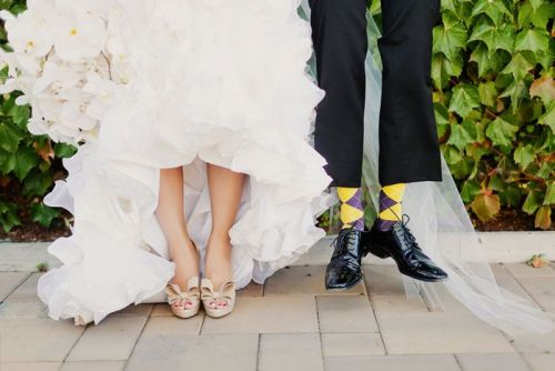 From my manager's wedding album. His wife's shoes are TO DIE FOR. <3