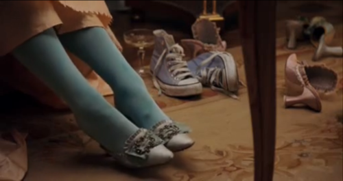 societyville:  why is there a random pair of converse in marie antoinette  …and that's what makes this movie amazing.