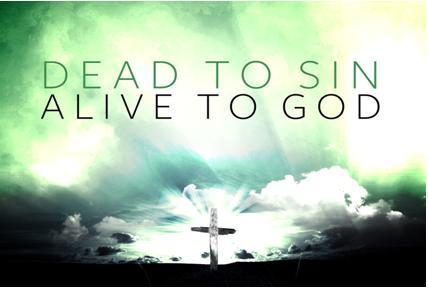 DEAD TO SIN, ALIVE TO GOD. Book of Romans