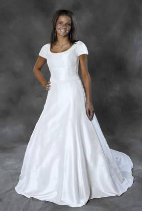 I am so glad the top half of my wedding dress does not look like a tee shirt