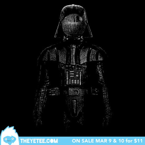 theyetee:  The Treachery of The Dark Side by Bleee Only Available March 9-10 at THEYETEE.COM Make sure you swing by our Facebook page to enter to win a free shirt!