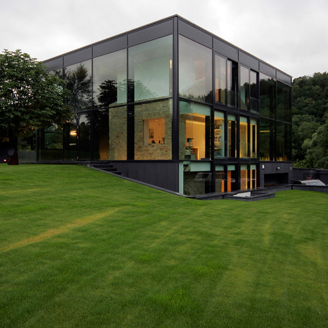 micasaessucasa:  Yellow Brick House by G. Natkevicius & Partners