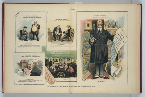 We're returned to the Gilded Age.  It's sad that this cartoon is as applicable today as it was when it was published over 100 years ago!