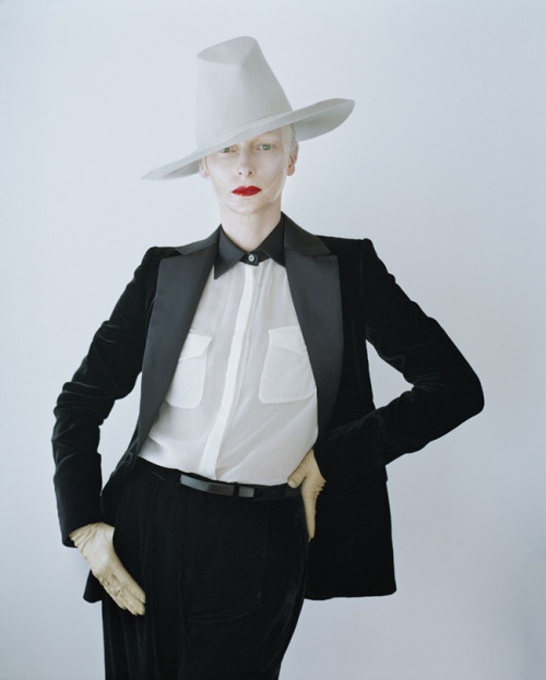 suicideblonde: Tilda Swinton photographed by Tim Walker in 2011