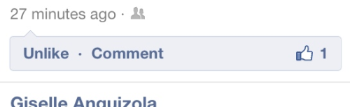 Particularly poor choice on Facebook's redesign of the like/comment element.