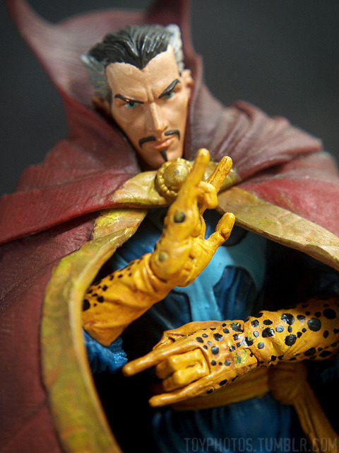 """Sorcerer Supreme""  Gotta love free toys! Marvel Legends Wave 9 (Galactus Series) Dr. Strange"