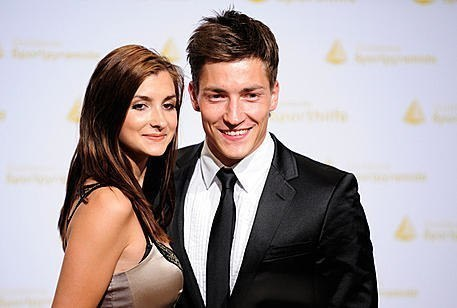 Philipp and his girlfriend Vivien.