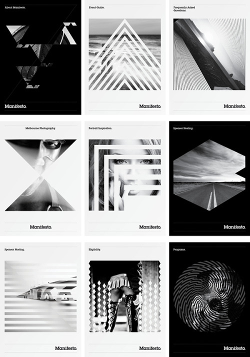 graphicporn:  (via Manifesto. on the Behance Network)