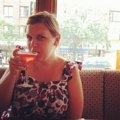Sipping a #cosmo at #scoutbar #NYC #sexandthecity (Taken with instagram)