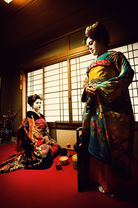 Portraits of Geisha by Akif Hakan Celebi