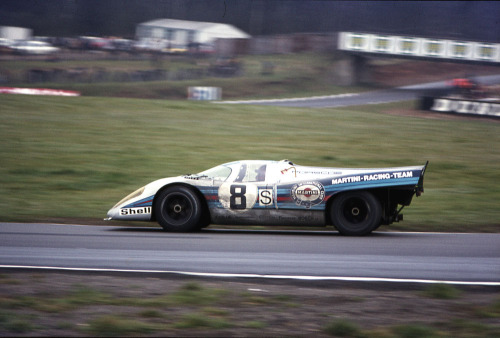 Porsche 917 at the 1000KM of Brands Hatch 1971