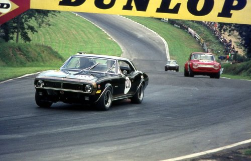 Camaro at Brands Hatch 1969