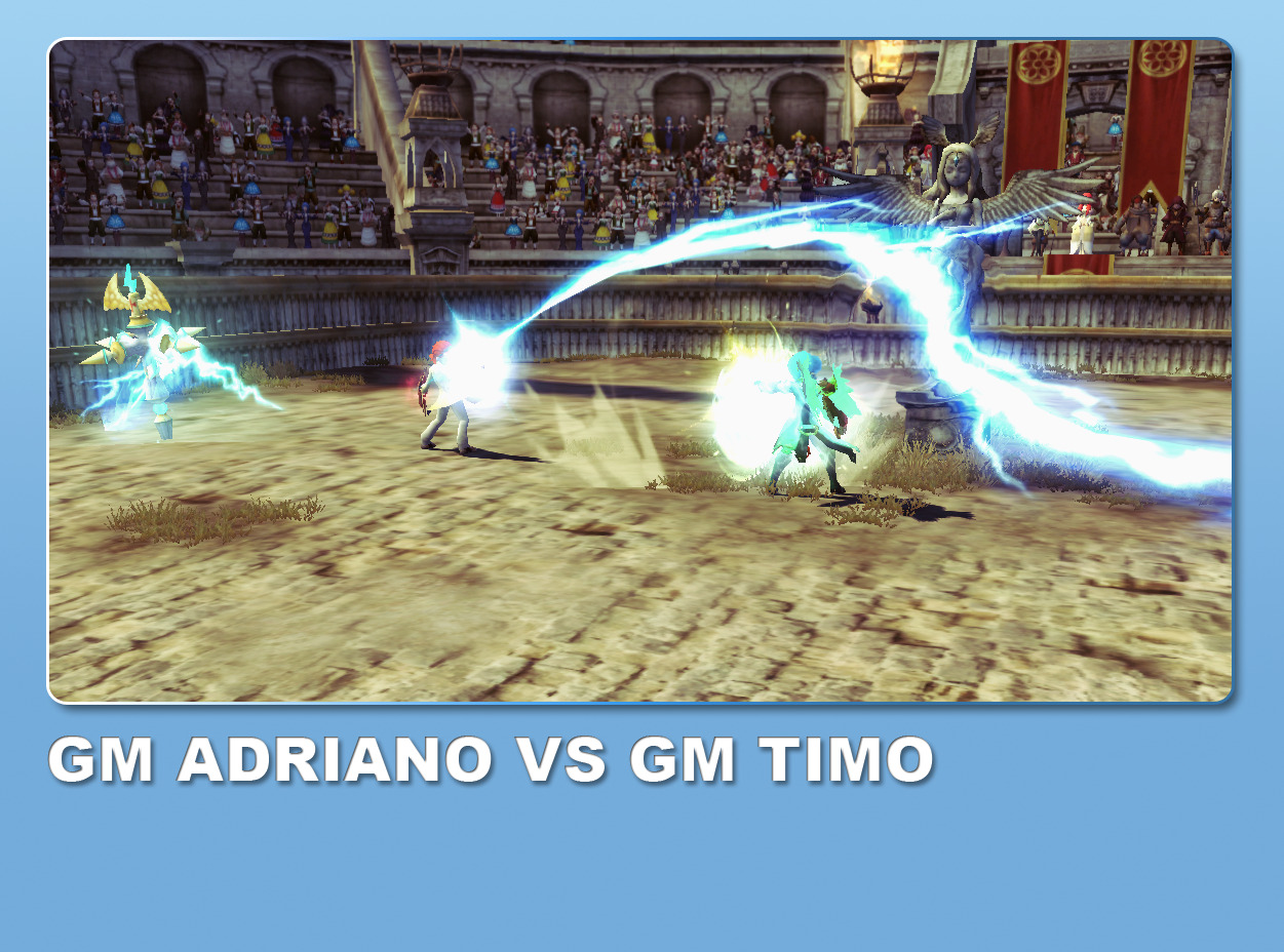 Just me and GM Timo fighting each other in Ladder Mode PVP XD