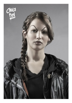 cholafied:  Katniss Everdeen aka Barrio 12 Chola
