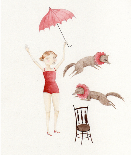 """Circus Dogs"" Julianna Swaney"