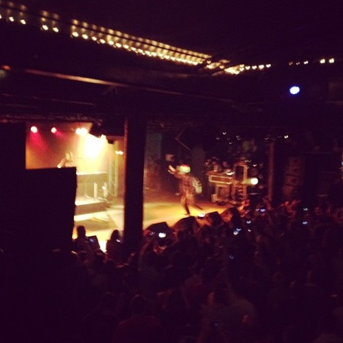 KRS1 in Brisbane! 20 years in the making…. (Taken with instagram)