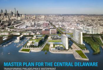 """Planning Commission adopts Central Delaware Master Plan March 6, 2012. Kellie Patrick Gates The Philadelphia City Planning Commission unanimously adopted the Master Plan for the Central Delaware Waterfront in its entirety, on Tuesday afternoon.""It's an ambitious plan,"" said Commission Vice Chairman Joe Syrnick before the vote. ""It's not perfect, but this area has languished for far too long, and it needs a road map for moving forward.""The action was a great relief to advocates for the master plan - which aims to reunite the city and the waterfront with a system of linked parks and extended city streets - and the quasi-city agency that oversaw its development.As recently as Saturday, top planning staff was still in discussion over whether to recommend that the commission adopt the full plan or accept portions on the northern and southern end. See previous coverage here and here. Because it was adopted, the Central Delware Plan is now part of the city's comprehensive plan. It must be considered by any city governing body - such as City Council or the Zoning Board of Adjustment -  when making a waterfront decision. Had the plan been accepted instead, consideration would have been optional. ""We're thrilled,"" said Matt Ruben, chairman of the Central Delaware Advocacy Group, which is comprised of representatives from waterfront civic and other organizations and advocates for the vision the public expressed for the central Delaware during years of public input sessions. CDAG and other fans of the plan say it will re-tie the city to the waterfront, create new recreational and green space and spur economic growth. Queen Village Neighbors Association President Jeff Hornstein told commissioners that his is one of the communities most cut-off from the waterfront by the creation of I-95. ""We see the plan as a remedy,"" he said."" Via: PlanPhilly"
