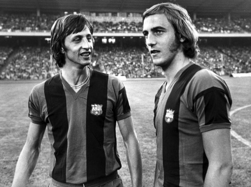 interleaning:  Cruyff and Neeskens, 1974.