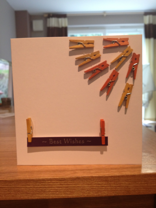 """New PEG IT"" card £3.00 change what it says for your occasion - @HJU1986 or email me for all designs at hunderwood1986@hotmail.co.uk - SOLD!!!"