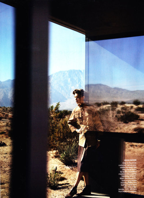 "couture-dolls:  ""Manifest Destiny""Vogue US, February 2011Model : Arizona Muse"