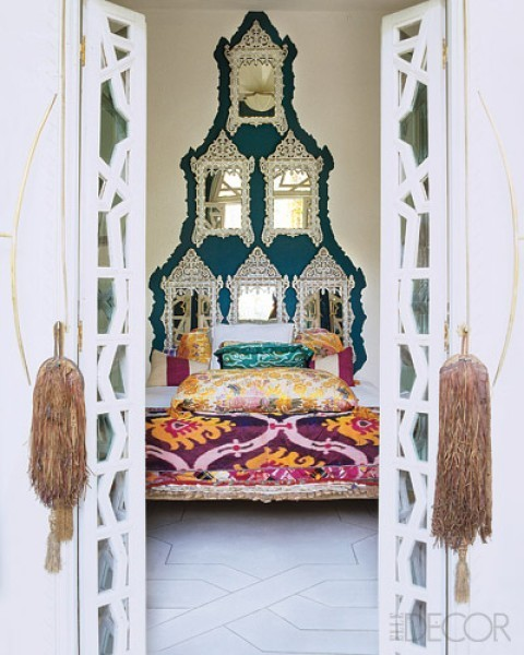 moroccan bedroom. what cultures inspire you?