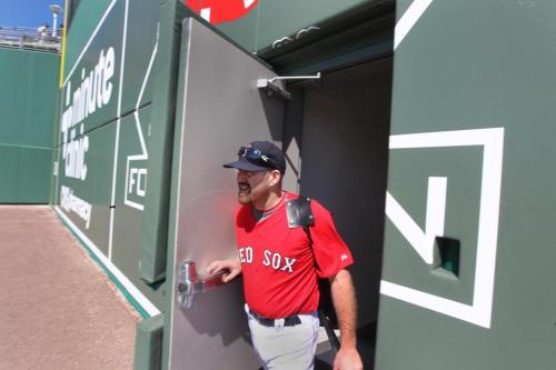 boston:  JetBlue Park's 'Monster' has its own quirks  - The Red Sox' new spring home has a replica Green Monster that blends the charm of Fenway with modern amenities for fans and players.