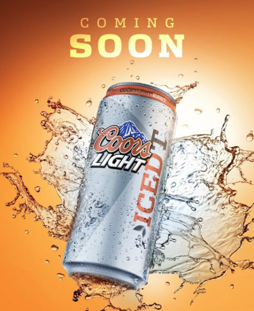 NOPE. iheartchaos:  Iced tea flavored Coors Light? It's coming. Gird your stomachs. I love iced tea, and I love hard iced tea and Long Island iced tea, but something about iced tea flavored Coors Light makes me want to hurl just thinking about it. But it's going to be arriving on store shelves in April, and someone's going to drink the shit. Via