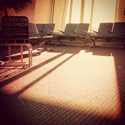 Never stop moving.  (Taken with Instagram at Fresno Yosemite International Airport)