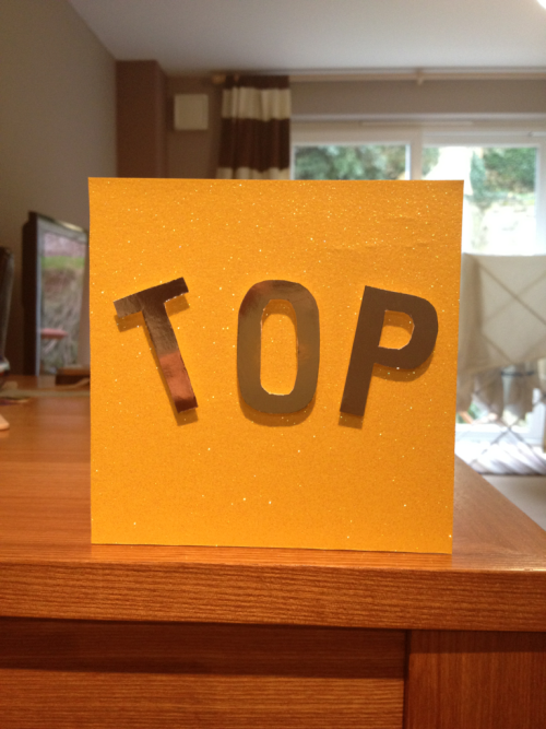 """TOP"" Fun cards made to order - please ask me if u want any info - £2.00 this one :-D - SOLD!!!"