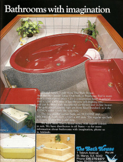 Penthouse Red Bath, 1980s