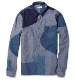Block-print chambray shirt by Folk