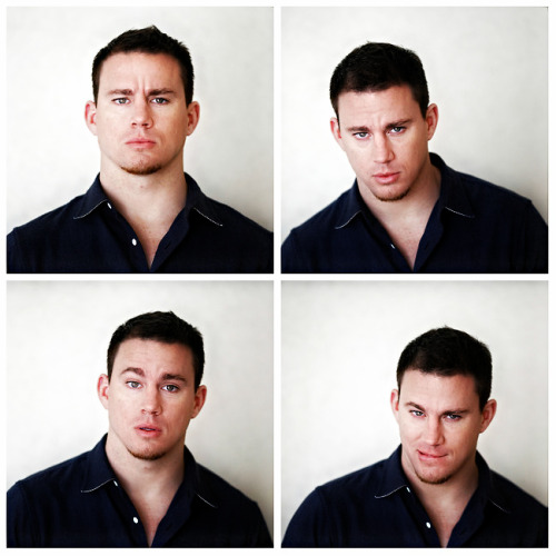 "Channing Tatum, clockwise from top left, poses as his characters from""G. I. Joe,"" ""The Vow,"" ""Magic Mike"" and ""21 Jump Street."" ""Part of [Channing Tatum's] appeal is old-fashioned movie star charisma — that 'it factor' that really is a real thing…But it's more than that. He has now shown that he can hold a gun, kiss a girl and tell a joke. Most actors are lucky if they can believably do one of those."" - Amy Pascal (Co-chairwoman of Sony Pictures Entertainment) READ MORE FROM THE NEW YORK TIMES: http://nyti.ms/z5gCid"