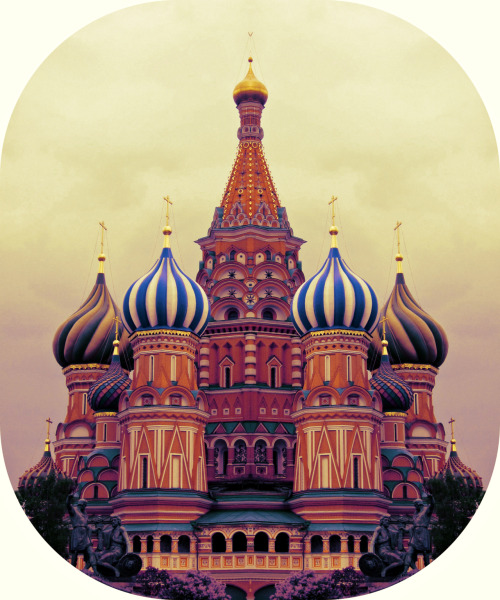 This wonderful image of Moscow came from dinasolo, whose Tumblr can be found here - http://dinasolo.tumblr.com/