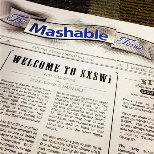 britneyleanne:  Hey @mashable!  (Taken with instagram)