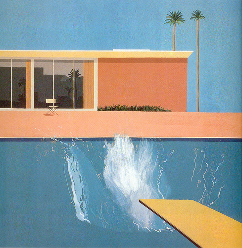 Friday feelings. David Hockney - A Bigger Splash