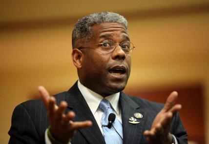 "thecoinpurse:  Congressman Allen West a Real Life ""Uncle Ruckus""  In a recent sit down with the Florida Representative, CNN anchor John King asked Mr. West how he felt about being a black Congressman during Black History Month.  In light of this month being Black History Month, I feel no way involved with this negro celebration of half accomplishments and borderline Communist agendas. View the list of these ""fearless"" leaders of black America. Black inhabitants of America knew their place at the table, and knew they could not eat off the same plate of the more than welcoming white men and women of the time. These men, I use that term lightly, like Malcolm X pushed themselves into the homes of innocent white Americans. This action riled up the negro, and scared the living hell out of people. I am no way apart of this community of transported Africans, I myself am an American. I'm a good ol' boy from the great state of Florida, and a citizen of this great nation. I know God recognizes me as my true self, a proud, strong white man given dark pigmentation. God had to give the blacks at least one intelligent person, so he chose to give me dark skin. I curse my birth as a black man every day. I'm black by birth, not by choice. It will all be sorted out when my name is called, and I step in front of the great white Jesus himself. Source"