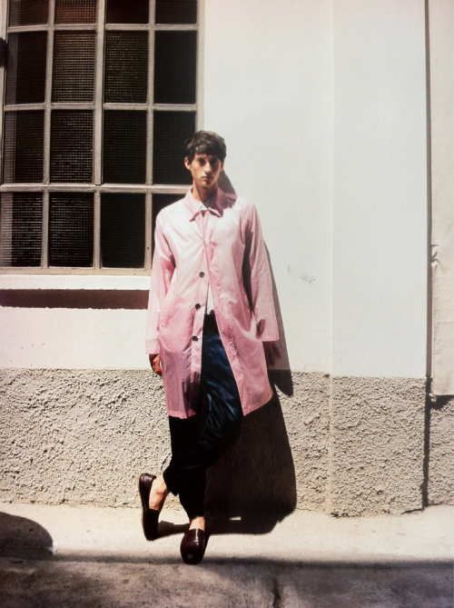 66lanvin:  BEFORE the GIG at DRIES………..No.2