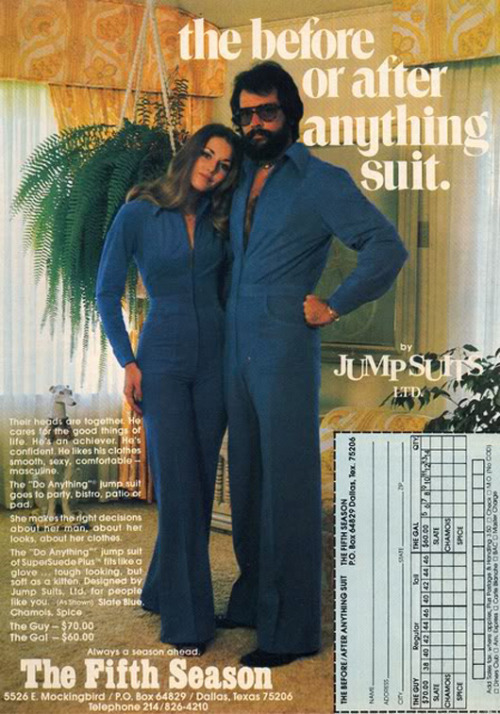 My god, I want to wear jumpsuits!
