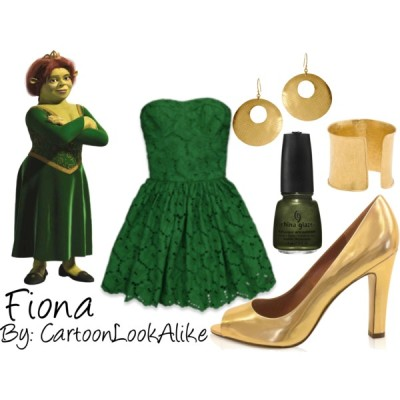 Fiona By: CartoonLookAlike by ehazelwood4390 featuring diamond banglesAbercrombie Fitch dress, $138Marc by Marc Jacobs leather pumps, $385Diamond bangle, £7,500People Tree oversized hoop earrings, $29
