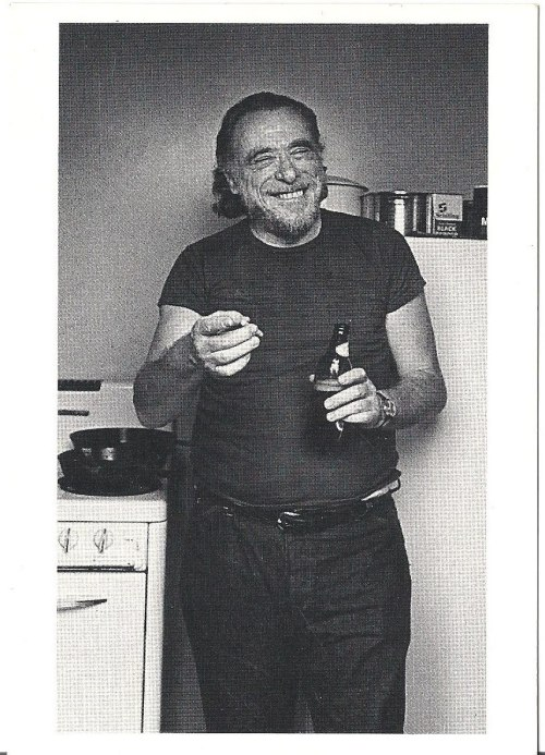"hockey-teeth:        RIP Charles Bukowski (August 16, 1920 – March 9, 1994)""There's nothing to mourn about death any more than there is to mourn about the growing of a flower. What is terrible is not death but the lives people live or don't live up until their death. They don't honor their own lives, they piss on their lives. They shit them away. Dumb fuckers. They concentrate too much on fucking, movies, money, fa…mily, fucking. Their minds are full of cotton. They swallow God without thinking, they swallow country without thinking. Soon they forget how to think, they let others think for them. Their brains are stuffed with cotton. They look ugly, they talk ugly, they walk ugly. Play them the great music of the centuries and they can't hear it. Most people's deaths are a sham. There's nothing left to die."""